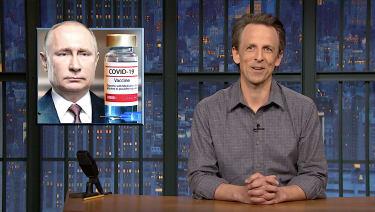 Putin gets the jab
