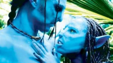 A screenshot from the Avatar XXX porn film.