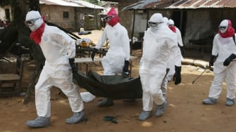 WHO: Ebola cases could triple to 20,000 by November