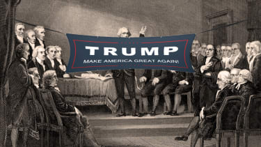 If Trump were at the Constitutional Convention.