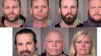 Armed occupiers arrested in Oregon after a six-week standoff.