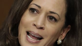 Sen. Kamala Harris questions Jeff Sessions.