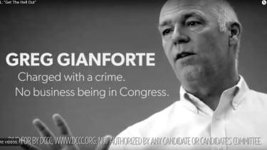 Democrat ad against Greg Gianforte.
