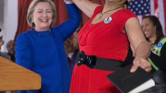 Hillary Clinton sent personal letters to Sandra Blands mother.