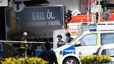 Stockholm Sweden attack.