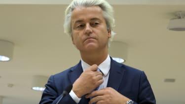 Populist anti-Islam lawmaker Geert Wilders.