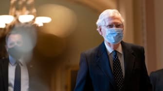 Senate Majority Leader Mitch McConnell.