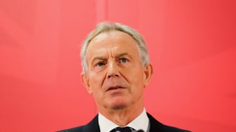 Former British Prime Minister Tony Blair expressed concern for Britain's future after their historic vote to split from the EU.