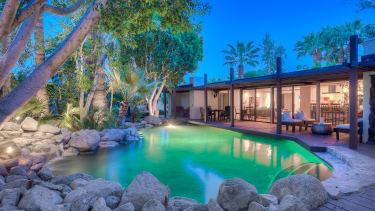 Three-bedroom house in Palm Desert, California.
