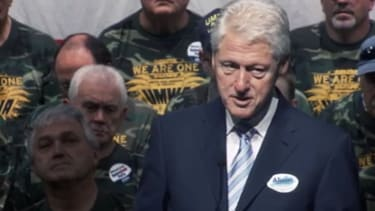 McConnell opponent runs new ad, starring Bill Clinton