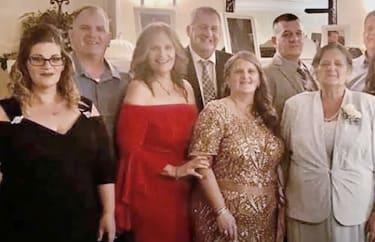 Members of the Fusco family.