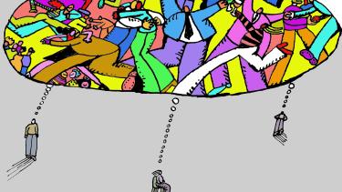 Editorial Cartoon U.S. shared dream no more quarantine self isolation