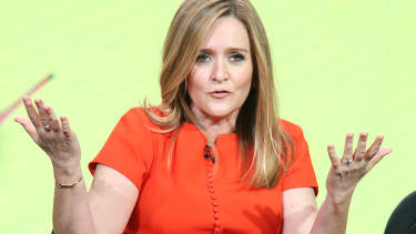 Samantha Bee's savage clapback after President Trumps press conference.
