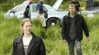 "Mireile Enos stars in AMC's latest drama ""The Killing."""