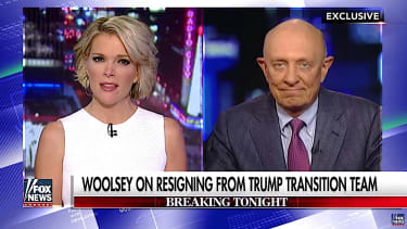 James Woolsey talks to Megyn Kelly about leaving the Trump team