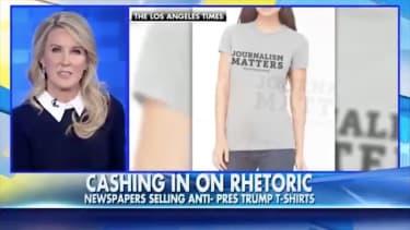 "Fox News finds examples of ""anti-Trump rhetoric"""