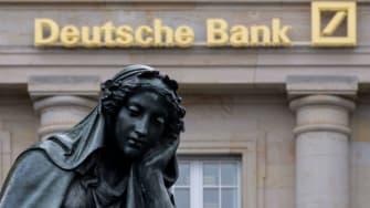 Deutsche Bank in Frankfurt, Germany.