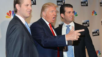 President Trump and his adult sons.