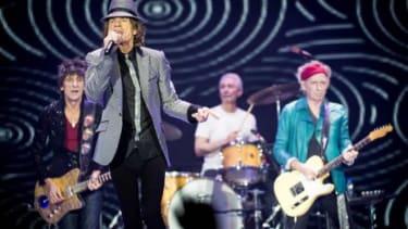 Still got it: The Rolling Stones perform in London on Nov. 25