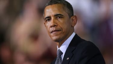 """President Obama's late budget is """"catching hell from both sides."""""""