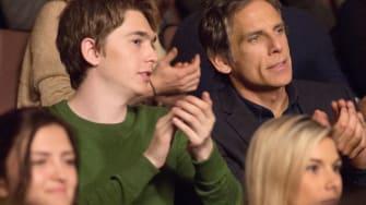 Austin Abrams and Ben Stiller in 'Brad's Status.'