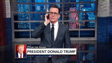 Stephen Colbert takes Trump 3 am phone call
