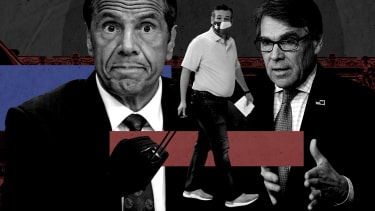 Andrew Cuomo, Ted Cruz, and Rick Perry.
