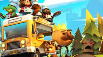 The characters of Overcooked 2
