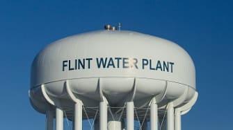 The Flint Water Plant.