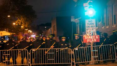 Police in Philadelphia.