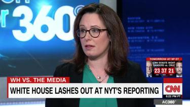 New York Times reporter Maggie Haberman talks Trump bathrobes on CNN