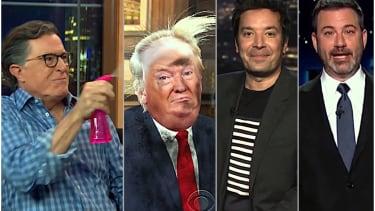 Late night hosts on final debate
