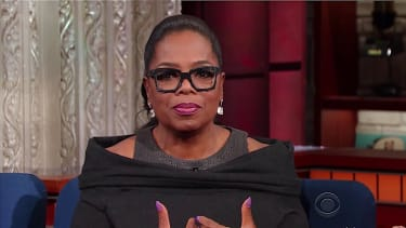 Oprah tells Stephen Colbert what she will miss about Michelle Obama