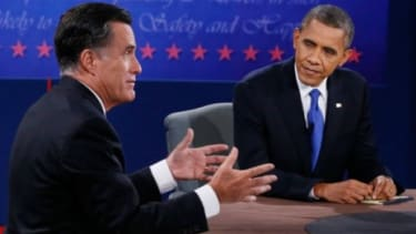 Many conservatives were disappointed in Mitt Romney's debate performance on Monday.