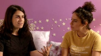A scene from Broad City.