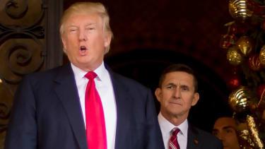 President Trump and Michael Flynn