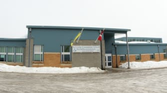 A reported school shooting in Canada.