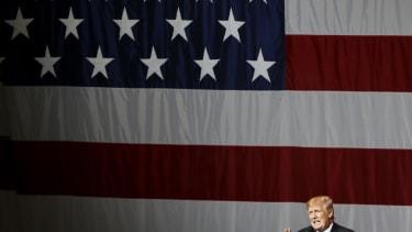 President Trump speaks in Indiana