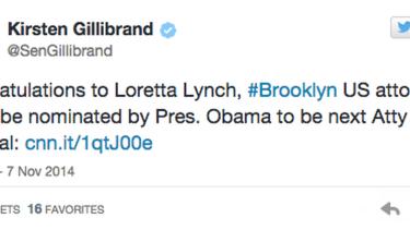 Senator tweets congratulation to next Attorney General nominee — before it's official