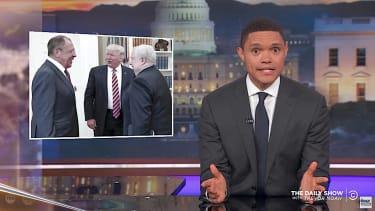 Trevor Noah on Donald Trump and secret spilling
