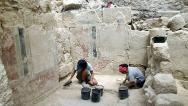 Archaeologists discover entryway to King Herod's palace