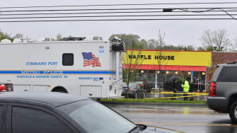 The Waffle House where 4 people were murdered in Nashville