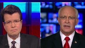 Wayne Simmons during a Fox News appearance.
