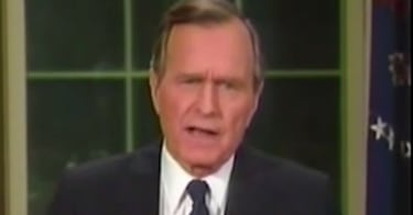 Watch the last 4 presidents announce plans to bomb Iraq