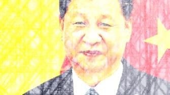 President Trump and Xi Jinping.