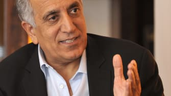Zalmay Khalilzad has reached a preliminary peace deal with the Taliban