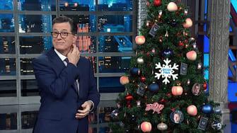 Stephen Colbert celebrates Trump impeachment eve
