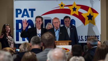 Kansas Sen. Pat Roberts wins re-election against independent challenger