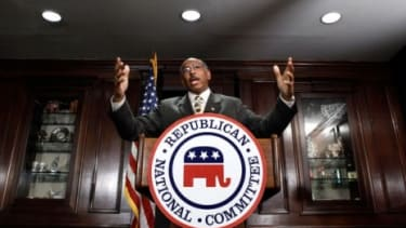 """""""Everyone has a learning curve,"""" said Michael Steele of his tenure as RNC Chairman, """"and I've clearly had mine."""""""