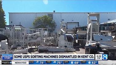 Sorting machines dismantled in western Michigan
